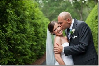 Bill Haas Julie Haas wedding pic