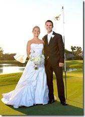Billy Horschel Brittany Nelson wedding photo