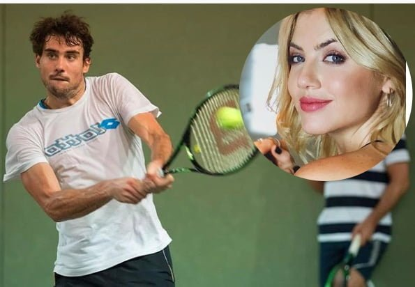 Guido Pella's Girlfriend Stephanie Demner
