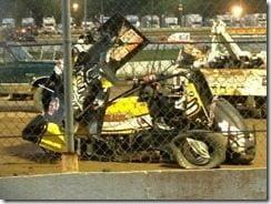 Jason Leffler car crash New Jersey pic