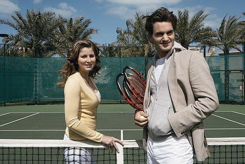 Mirka Federer Tennis Player Roger Federers Wife bio wiki photos