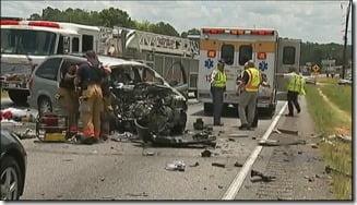 Mookie Blaylock Monica Murphy car crash pic