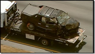Mookie Blaylock Monica Murphy car crash pics