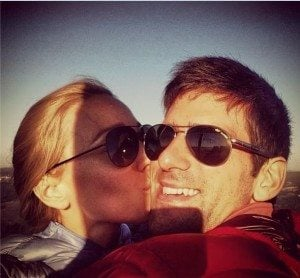 Novak djokovic engaged