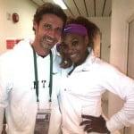 Serena Williams boyfriend Patrick Mouratoglou pics