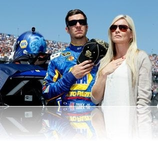 Sherry Pollex Martin Truex Jr girlfriend-picture