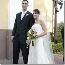 Tatiana Biskupicova Chara Zdeno Chara wedding