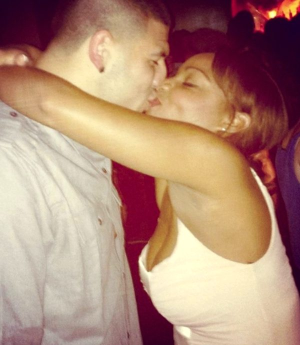 Aaron Hernandez' Girlfriend Shayanna Jenkins