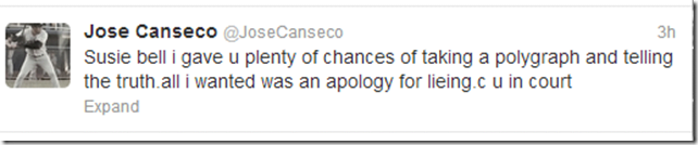 jose canceco twitter