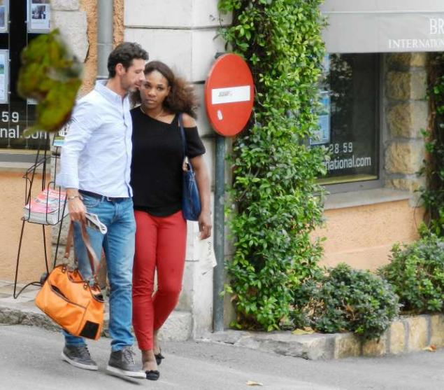 serena williams-boyfriend-patrick-mouratoglou-vacation