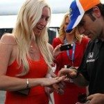 Dario Franchitti girlfriend engaged