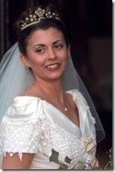 Lee Westwood  Laurae Coltart wedding photo