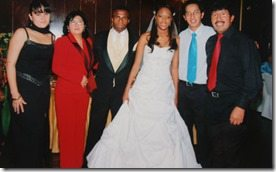 Liseth chala Benitez Christian el chucho Benitez wedding photo