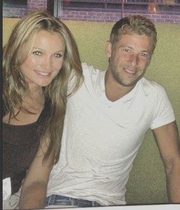 Marco Andretti  girlfriend Marta Krupa picture