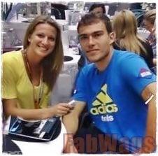 Tennis Player/ Playboy Model Marta Domachowska is Jerzy Janowicz' Girlfriend