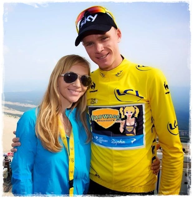 Cyclist Chris Froome Wife Michelle Cound  Froome