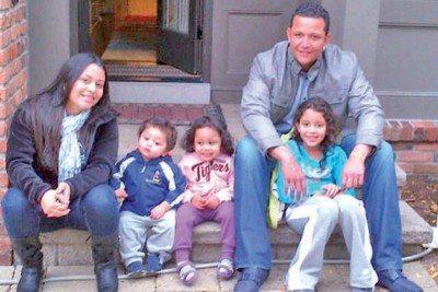 Miguel Cabreara wife children