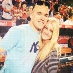 Mike Trout girlfriend Jessica Tara Cox picture