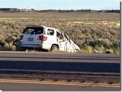 Polo Manulainiu car crash picture