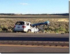 Polo Manulainiu car crash pohoto