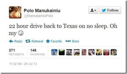 Polo Manulainiu last tweets