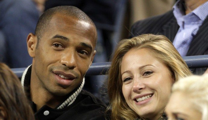 Thierry Henry's Girlfriend Andrea Rajacic