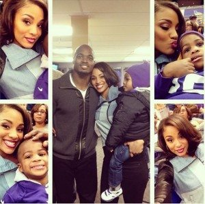 adrian Peterson wife ashley