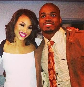 Adrian Peterson's  Wife Ashley Brown Peterson