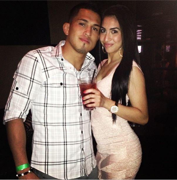 Anthony Pettis' girlfriend Alexandra Cartagena ...