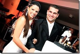 Renata Ribeiro wedding pic