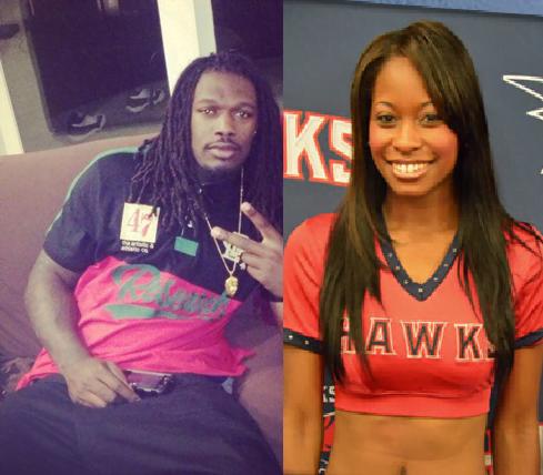 Former Hawks cheerleader Kirsten Hardy SC Jadeveon Clowney's Girlfriend