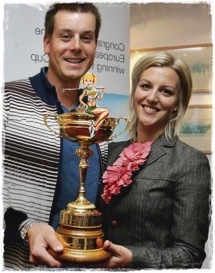 Emma Lofgren is PGA Golfer Henrik Stenson's Wife