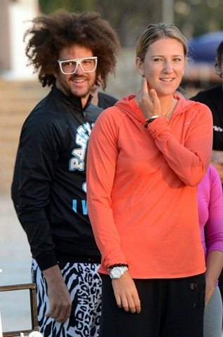 LMFAO Redfoo is Victoria Azarenka's Boyfriend