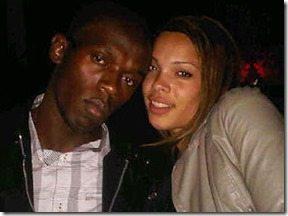 Rebecca Passley Usain Bolt pic