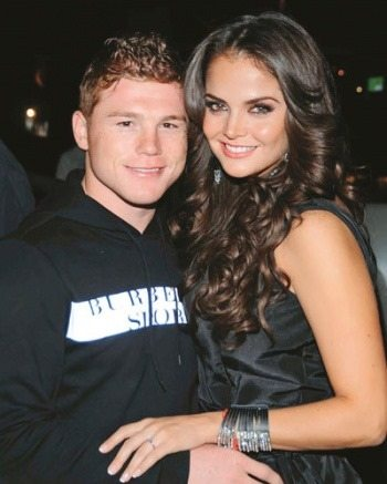 Marisol and Canelo confirmed their relationship in 2010, at the time a