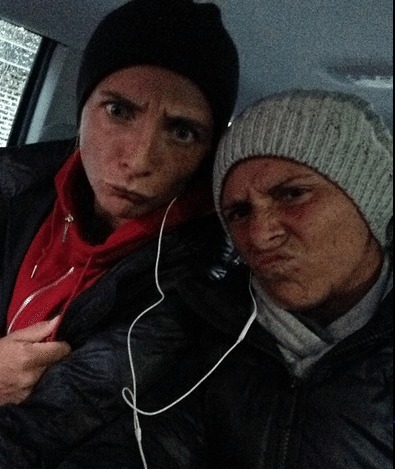 Photo of Sara Errani & her friend  Roberta Vinci