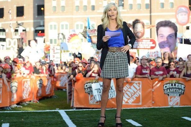 fox sports football schedule where is espn gameday this weekend