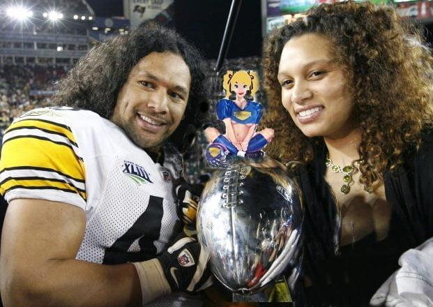 PHOTOS: Theodora Holmes Polamanu - NFL Player Troy ...