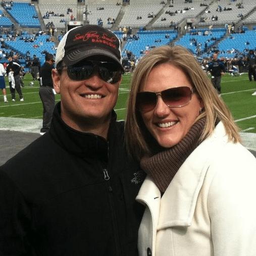 Kim Barclay PGA Golfer Zach Johnson's Wife