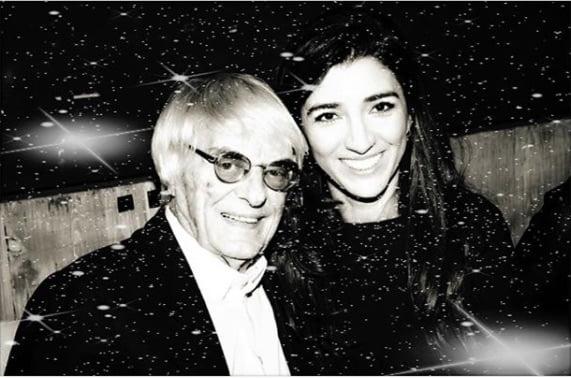 Formula One Bernie Ecclestone's Wife Fabiana (Flosi) Ecclestone