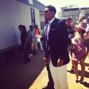 Cam Newton girlfriend Kentucky derby preakness