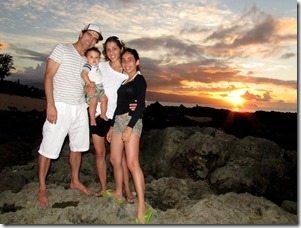 Carlo Burle Family