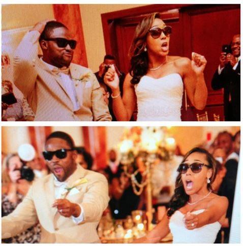 Chanel Smith Torrey Smith wedding pics