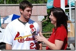 David Freese Julie Tristan interview
