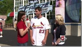 David Freese Julie Tristan