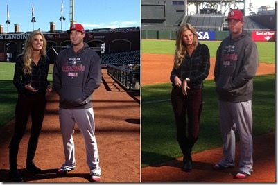 David freese Erin Andrews photo
