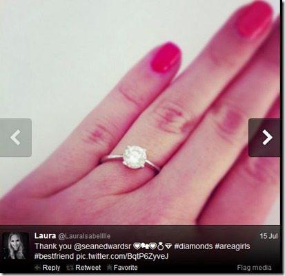 Laura Isabelle Sean Edwards  engagement