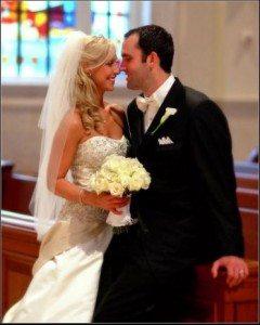 Laurie Schaub Matt Schaub wedding