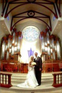 Laurie Schaub Matt Schaub wedding photo