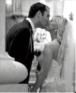Laurie Schaub Matt Schaub wedding pic